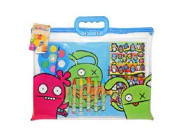 36 Units of Ugly Dolls 12 Piece Craft Tote Set - Arts & Crafts