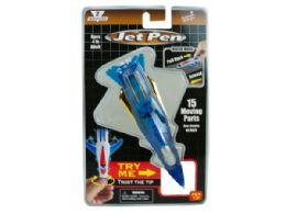 72 Units of Blue Pull Back Jet Pen - Pens