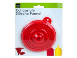 36 Units of Collapsible Silicone Funnel - Store