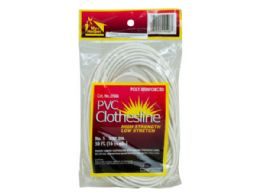 36 Units of 50 Ft Poly Reinforced Plastic Clothesline - Laundry  Supplies