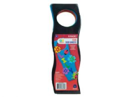 72 Units of 9 Pack Colorful Craft Foam Door Hangers - Arts & Crafts