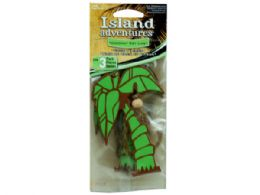 72 Units of 3 Pack Island Adventures Coconut Key Lime Palm Tree Air Fres - Air Fresheners