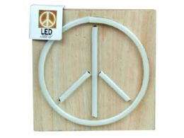 24 Units of 6x8 Peace Sign Neon Light - Store