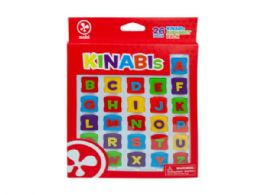 120 Units of 26 Pc Alphabet Pack - Toy Sets
