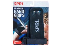 18 Units of Spri Leather Hand Grips In Large And X-Large - Fitness and Athletics