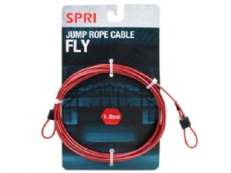 36 Units of Spri 1.8oz Fly Jump Rope Cable - Fitness and Athletics
