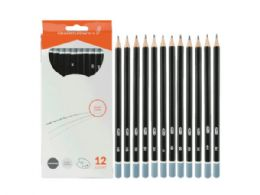 36 Units of Graded Graphite Pencils - Pencils