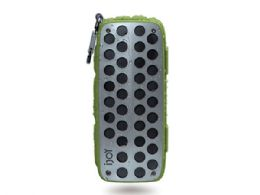 3 Units of Ijoy Rugged Shell Splashproof Bluetooth Speaker In Green - Speakers and Microphones