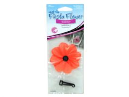 144 Units of Fiesta Flower Cosmos Vent Clip Air Freshener - Air Fresheners