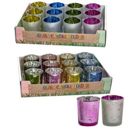 24 Units of Votive Candle Holder Spring - Candles & Accessories