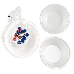 24 Units of Foam Bowl - Disposable Plates & Bowls