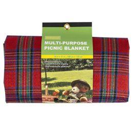 12 Units of Picnic Blanket - BBQ supplies