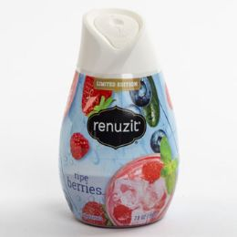 12 Units of Air Freshener Ripe Berries Renuzit Gel Adjustable - Air Fresheners