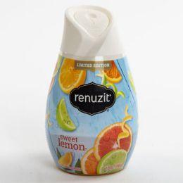 12 Units of Air Freshener Sweet Lemon Renuzit Gel Adjustable - Air Fresheners