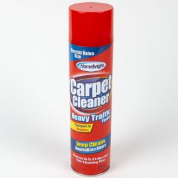 6 Units of Carpet Cleaner Foaming Heavy Traffic - Cleaning Products