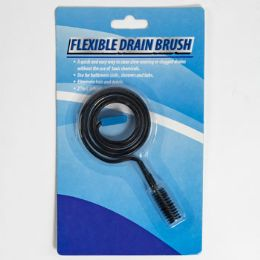 72 Units of Drain Brush Flexible - Cleaning Products