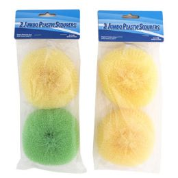 24 Units of Scourer 2 Pack - Scouring Pads & Sponges