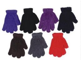 60 Units of Kids Winter Magic Glove Stretchy Warm - Kids Winter Gloves