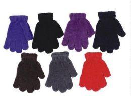 60 Units of Kids Winter Magic Glove Stretchy Warm - Kids Winter Gloves