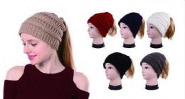 36 Units of Womens Girls Winter Warm Soft Stretch Knitted Head Wrap - Ear Warmers