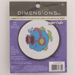 72 Units of Craft Kit Cross Stitch - Craft Kits