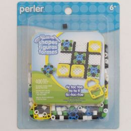 48 Units of Craft Kit Tic Tac Toe Fused Beads Perler - Craft Kits