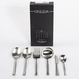 6 Units of Serving Set 6 Piece - Disposable Cutlery