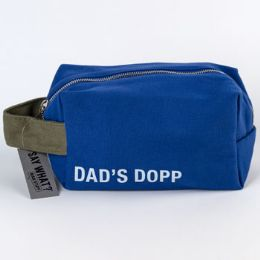 99 Units of Canvas Dads Dopp Royal Blue Bag - Bath And Body