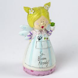 36 Units of Figurine So Bloom Ready Angel Resin - Home Decor