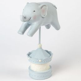 8 Units of Figurine Elephant On Stand Resin - Home Decor
