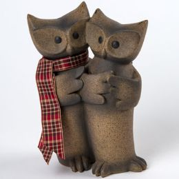 16 Units of Figurine Owl Couple - Home Decor