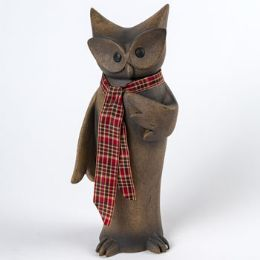 12 Units of Figurine Tall Owl - Home Decor