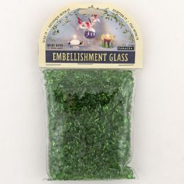 36 Units of Gems Mini Green Decorative - Craft Beads