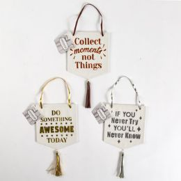 48 Units of Hanging Inspirational Signs - Home Decor