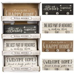 12 Units of Home Decor Wall Plaque - Home Decor
