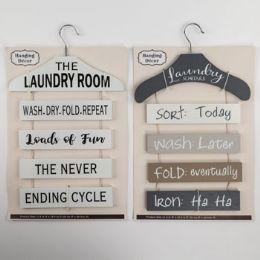 8 Units of Home Laundry Room Wall Decor Hanger Shape - Home Decor