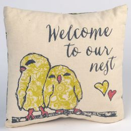 25 Units of Pillow Welcome To Our Nest - Pillow Cases