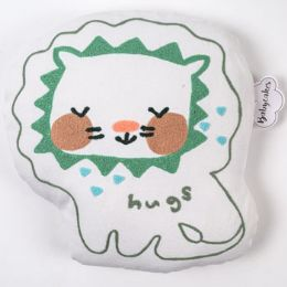 25 Units of Pillow Hugs Lion Cotton - Pillow Cases