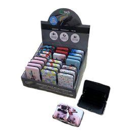 24 Units of Aluminum Wallet [Assorted Prints] - Wallets & Handbags