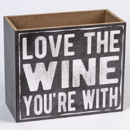 16 Units of Tabletop Box Wine Holder - Home Decor