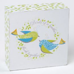 24 Units of Tabletop Plaque Birds Of A Feather - Home Decor
