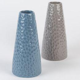24 Units of Vase Dolomite Pebbled - Home Decor