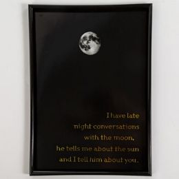 6 Units of Wall Decor Late Night Conversations - Home Decor