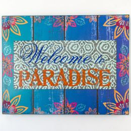 12 Units of Wall Decor Enjoy Life Welcome To Paradise - Home Decor