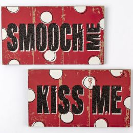 48 Units of Wall Decor Love And Smooches - Home Decor