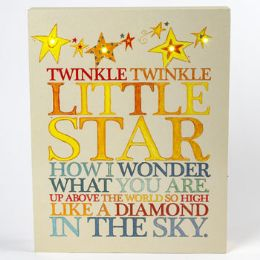 8 Units of Wall Decor Twinkle Twinkle Little Star - Home Decor