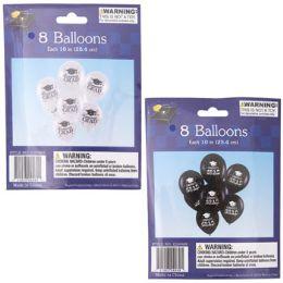24 Units of Balloon Graduation Print - Balloons & Balloon Holder
