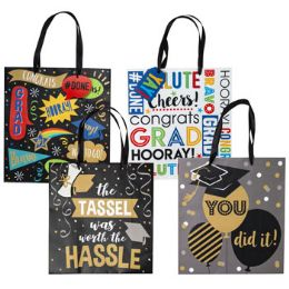 48 Units of Gift Bag Paper Graduate - Gift Bags Assorted