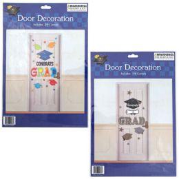 24 Units of Graduation Door Cutouts Decor - Graduation