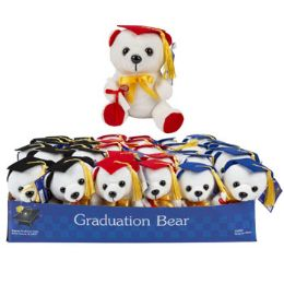 36 Units of Plush Graduation Bear - Graduation